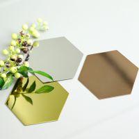 Hexagonal Metal Tray Coaster