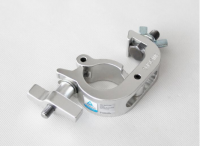 Black/Silver Snap Clamp for stage lighting
