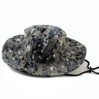 Round Bucket hat outdoor mountaineering fishing camouflage bonnet jungle caps