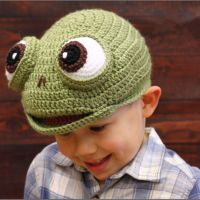 New Children Knitted Hat Cartoon Unicorn Hats