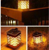 LED Flame courtyard lamp