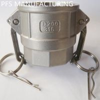 Stainless steel 304/316 Camlock couplings acoples rapidos kamlok