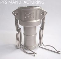 Stainless steel 304/316 Camlock couplings Cam groove fittings kamlok