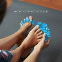Gel Toe Stretcher & Toe Separator - For Fighting Bunions, Hammer Toes    HT135