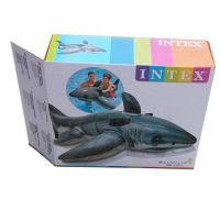"""Inflatable Pool Float Swim Ring Ride On Shark Swimming Toy 68.16""""x42.16""""     SP119"""