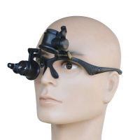 Magnifying Glasses with Light - 10X 15X 20X 25X High Powered Magnifier Eye Glasses Loupe for Watch Jewelry Repair