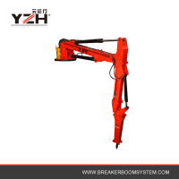 Fixed Type Hydraulic Rock Breaker Booms System