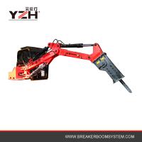 Pedestal Hydraulic Rockbreakers Booms System