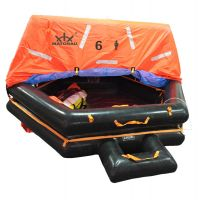 Solas Throw Over Board Inflatable Life Raft
