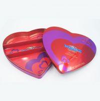 Heart-shape chocolate tin box factory in China