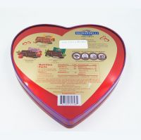 Heart-shape chocolate tin box factory in China
