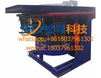 1ton medium frequency induction furnace