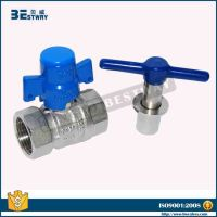 water meter lockable water valve with T handle