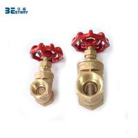High end new product brass stem bronze gate valve