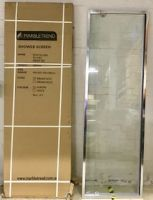 New still packaged, Marbletrend Flinders (Boston) Semi-framelss Adjustable Corner Shower Screen