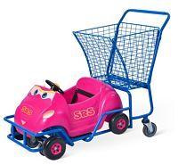 Shopping kid trolley