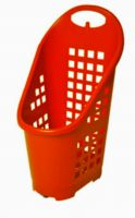 Plastic Mobile Shopping Cart