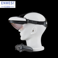 3D VR /AR Smart Glasses High Resolution Android 5.1 All In One Headset AMOLED Display