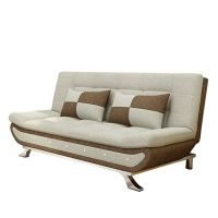 Solid wood folding multi-functional sofa bed