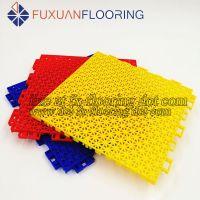 outdoor indoor pp interlocking badminton court flooring
