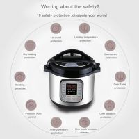 Chinese supplier high quality kitchen appliance home use 6l Instant cooking Pot 10-in-1 Multi-use Electric Pressure Cooker