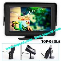 Universal 4.3 Inch LCD HD Rear view backup Monitor from TOPCCD (TOP-043LA)
