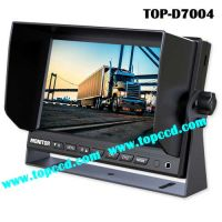 Truck Bus 7 Inch Car Parking Monitor for rear obversation from TOPCCD (TOP-D7004)
