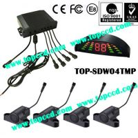 Heavy Duty Vehicle Waterproof Rear 4 Parking Sensor System from TOPCCD (TOP-SDW04TMP)