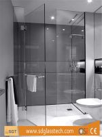 10mm Clear Toughened Shower Enclosure Glass
