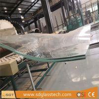 13.52mm SGP Laminated Curved Toughenedd Glass