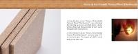 Wood fiberboards  GWF-01