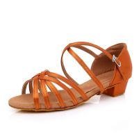 child woman latin dance shoes