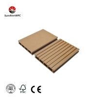 High quality WPC composite decking board with CE flooring