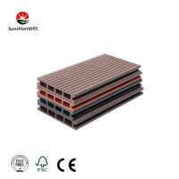 WPC composite decking board with CE