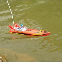 Speedboat Infrared Remote Control Boat High Speed Electric RC Boat