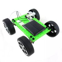 Mini Handmade Solar Powered Toy Children Educational Hobby DIY Car Kit