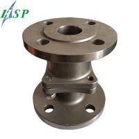 Valve Base for Auto Engine Lost Wax Casting Connecting Flange Stainles