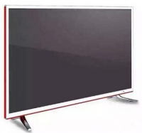 40 Inch LED HD TV Apple Style Ultra-thin Ultra Narrow Frame Unique Design Novel Fashion HD Red Gold Television
