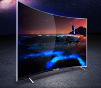 2018 OEM customized cheap factory price 65 inch QHD 4k HDR Curved screen android led tv smart wifi 24 Television