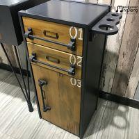 Barber tools cabinet