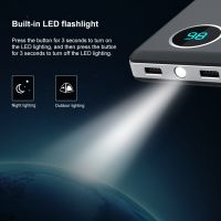 Power Bank with Built-in LED Flashlight