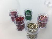 Hexagonal PET Glitter Powder Christmas Poly Flake Festival Wholesale Bulk Glitter