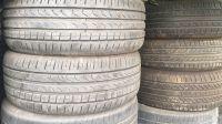 used tire scrap