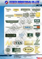 Logo Plate, logo Plaque, Zipper Pull, Metal Decoration