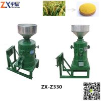 automatic vertical millet mill machine household small-sized millet rice grinding plant
