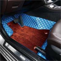 3D car mats OEM production Fish bone pattern Luxury product
