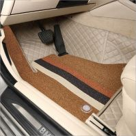 Fully customized 3D car floor mats with inner pads luxury quality