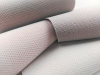 Sheep skin and non-woven backing bottom Artificial PVC leather for cars