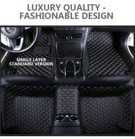 Full surrounded car floor mats PVC leatherette stock lot