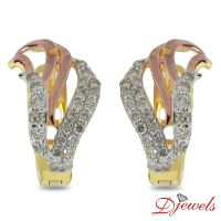 Diamond Olive Earrings